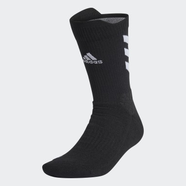 Tennis Black Alphaskin Crew Socks