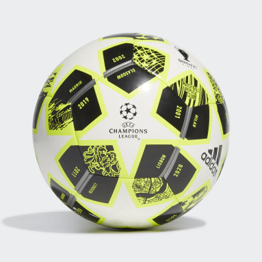 Men Football Yellow Finale 21 20th Anniversary UCL Club Ball