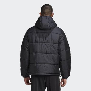 черный Утепленная куртка Hooded Puffer