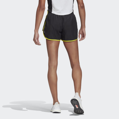 Women's Running Black Marathon 20 Shorts