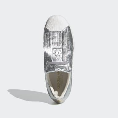 Kadın Originals Gümüş Superstar FR Ayakkabı