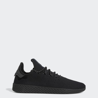 Chaussure Pharrell Williams Tennis HU Noir Originals