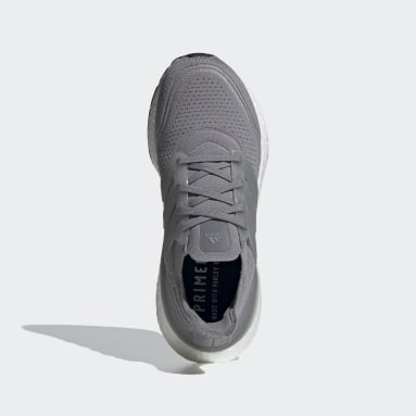 Women Running Grey Ultraboost 21 Shoes