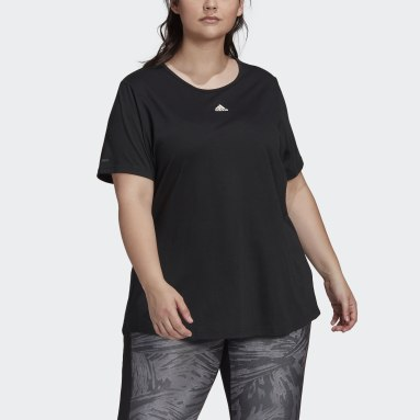 Women's Essentials Black adidas x Zoe Saldana AEROREADY Tee (Plus Size)