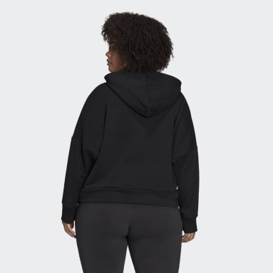 Women Sportswear Black adidas Sportswear Future Icons Hoodie (Plus Size)