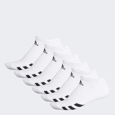 Men Golf White Ankle Socks 6 Pairs