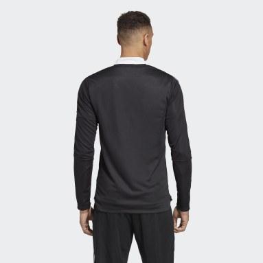 Muži Futbal čierna Tepláková bunda Tiro 21