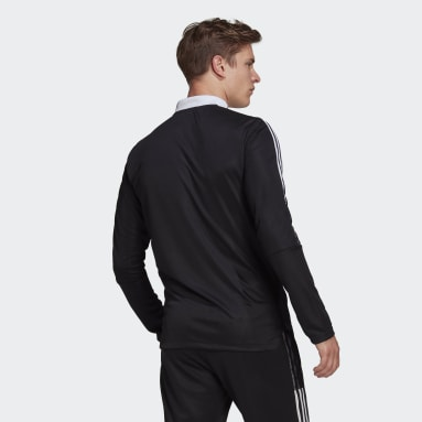 Men Football Black Tiro 21 Track Jacket