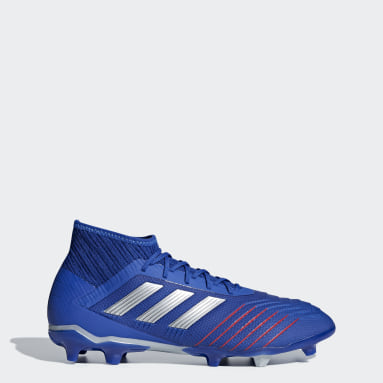 Football Blue Predator 19.2 Firm Ground Boots