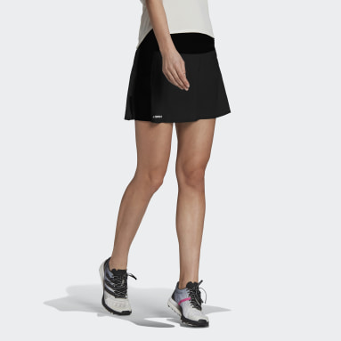 Dames TERREX Zwart Agravic Two-in-One Skort