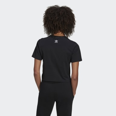 Γυναίκες Originals Μαύρο HER Studio London Crop Tee