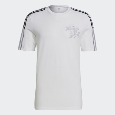 Men Football White Real Madrid CNY Tee