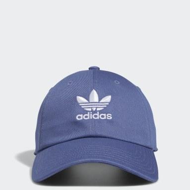 Men's Originals Blue Relaxed Strap-Back Hat