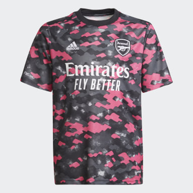 Youth 8-16 Years Football Pink Arsenal Pre-Match Jersey