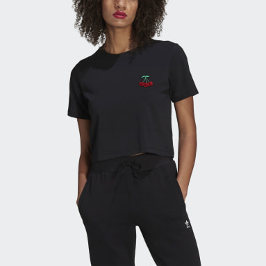 Women Originals Black HER Studio London Crop T-Shirt