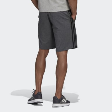 Men's Essentials Grey Essentials 3-Stripes Shorts