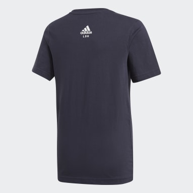 Boys Gym & Training Blue London City Limits Tee