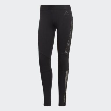 Calzas ID - Tiro Medio Negro Mujer Sportswear