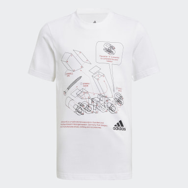 Boys Lifestyle Tech Sports Graphic Tee