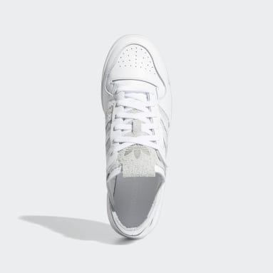 Chaussure Forum 84 Low Minimalist Icons Blanc Originals