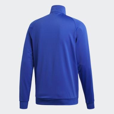 Men Gym & Training Blue Core 18 Track Top