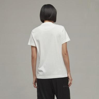 Camiseta Classic Chest Logo Y-3 Blanco Mujer Y-3