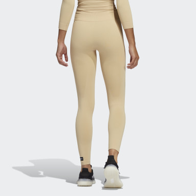 Women's Yoga Beige Formotion Sculpt Tights
