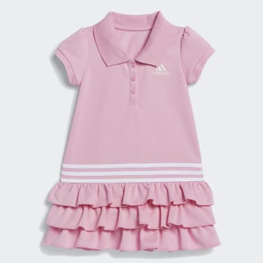 Infant & Toddler Training Pink Polo Dress