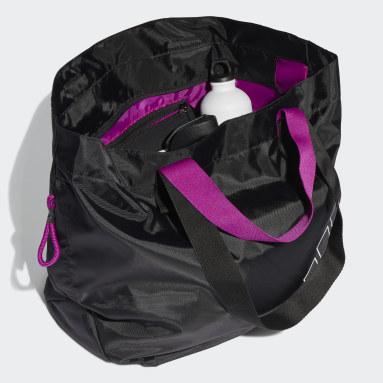 Canvas Sports Tote Bag Czerń