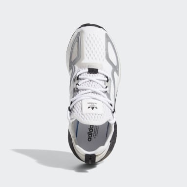 Youth Originals White ZX 2K Boost Shoes