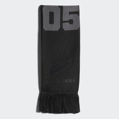 Men Rugby Black All Blacks Scarf