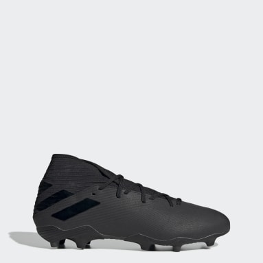 Fodbold Sort Nemeziz 19.3 Firm Ground støvler
