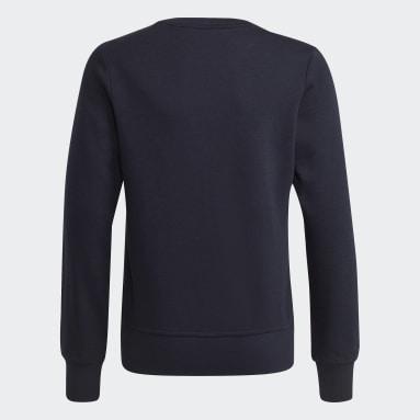 Girls Lifestyle Blue Essentials Sweatshirt