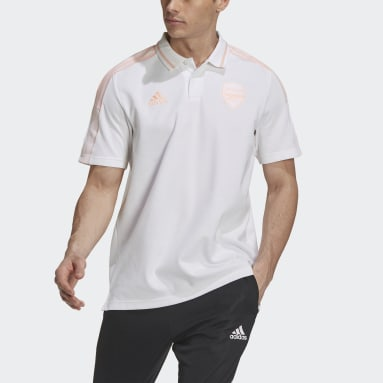 Polo Arsenal Blanc Hommes Football