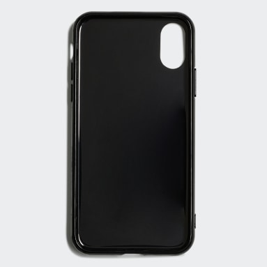Capa de Encaixe Adicolor – iPhone X Preto Originals