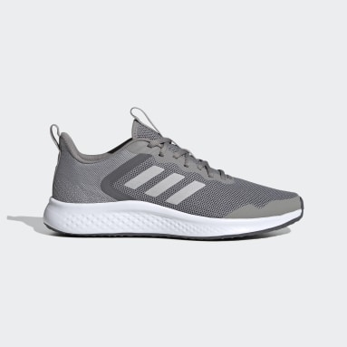 Men Running Grey Fluidstreet Shoes