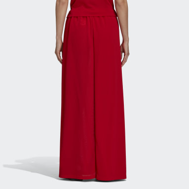 Women Y-3 Red Y-3 CH2 Airy Gauze Skirt