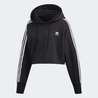 Nữ Originals Áo hoodie dáng lửng