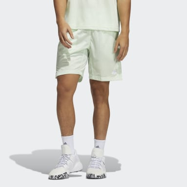 Men's Basketball Green Summer Legend Shorts