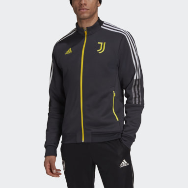 Men Soccer Grey Juventus Tiro Anthem Jacket