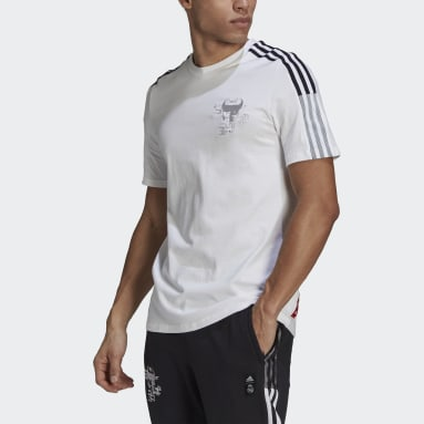 Men Football White Real Madrid CNY Jersey