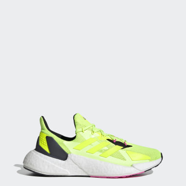Men Running Yellow X9000L4 Shoes