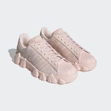 Sapatos Superstar 80s AC Rosa Originals