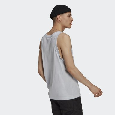 Herr Originals Blå Trefoil Tank Top