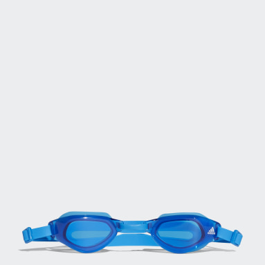 Kids Swimming Blue persistar fit unmirrored swim goggle junior