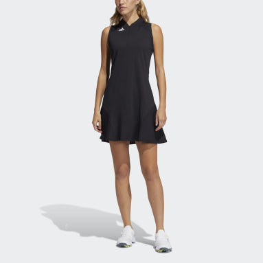 Women's Golf Black Sport Performance Primegreen Dress