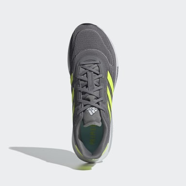 Running Grey Galaxar Run Shoes