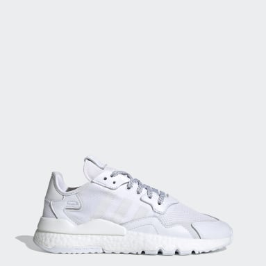 Chaussure Nite Jogger blanc Hommes Originals
