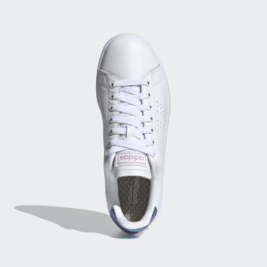 Women's Essentials White Advantage Shoes