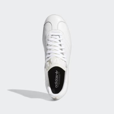 Herr Originals Vit Gazelle Shoes